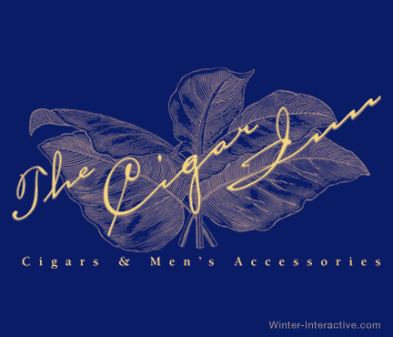 Cigar Inn retail stores, logo design Winter Interactive Inc