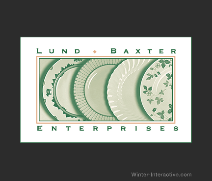 Lund Baxter Enterprises, logo design Winter Interactive Inc