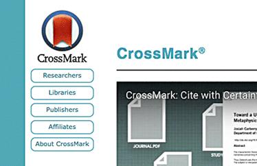 "<span class=""firstWord"">Website: </span>CrossMark"